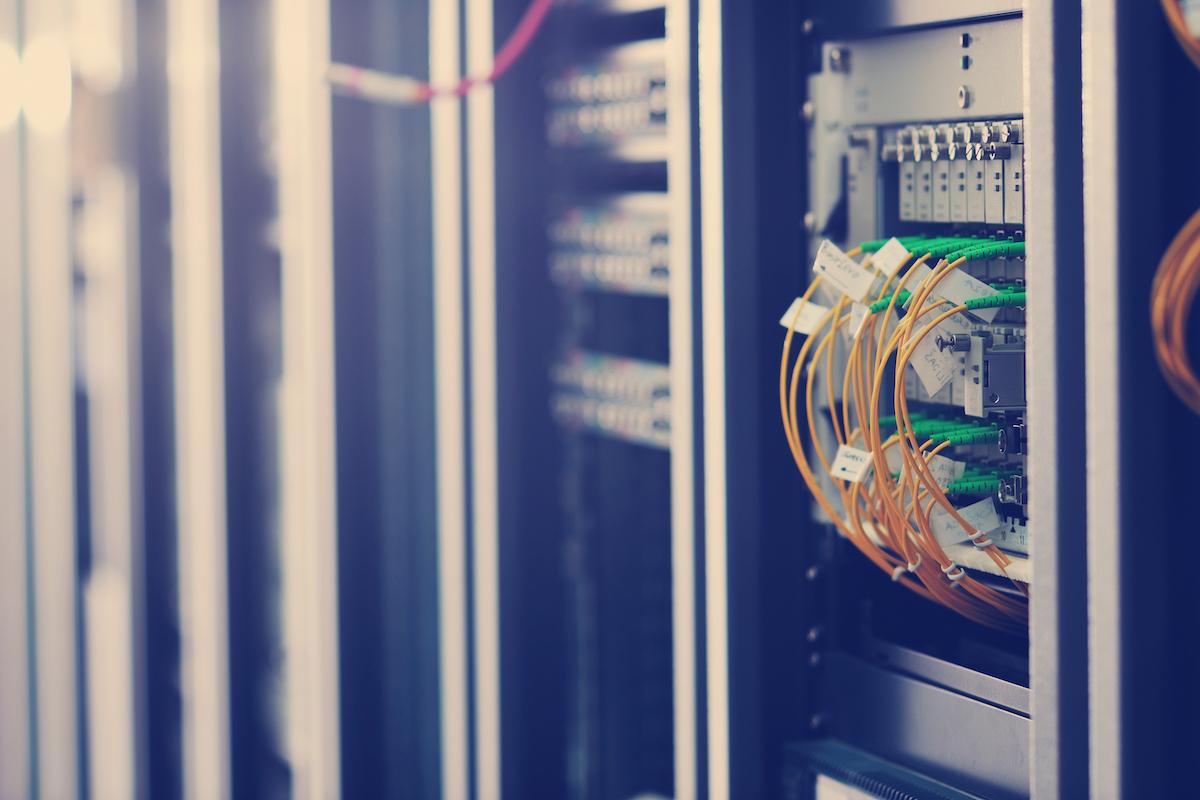 image block  Blog network server room PPE5K9T